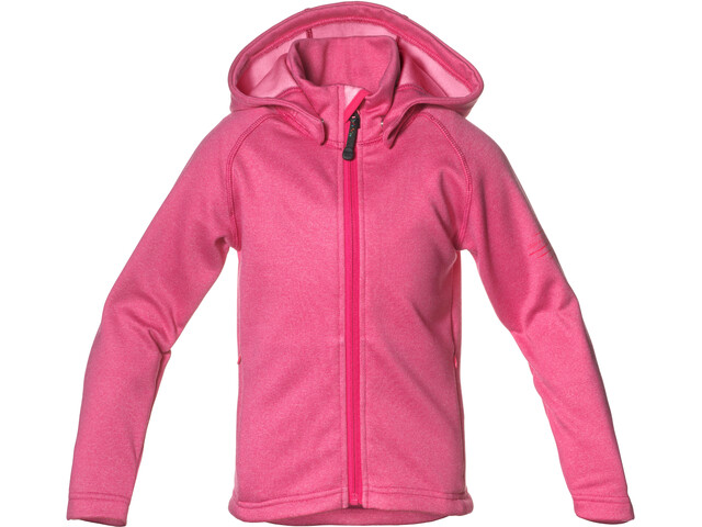 Isbjörn Panda Fleece Hoodie Girls Rose
